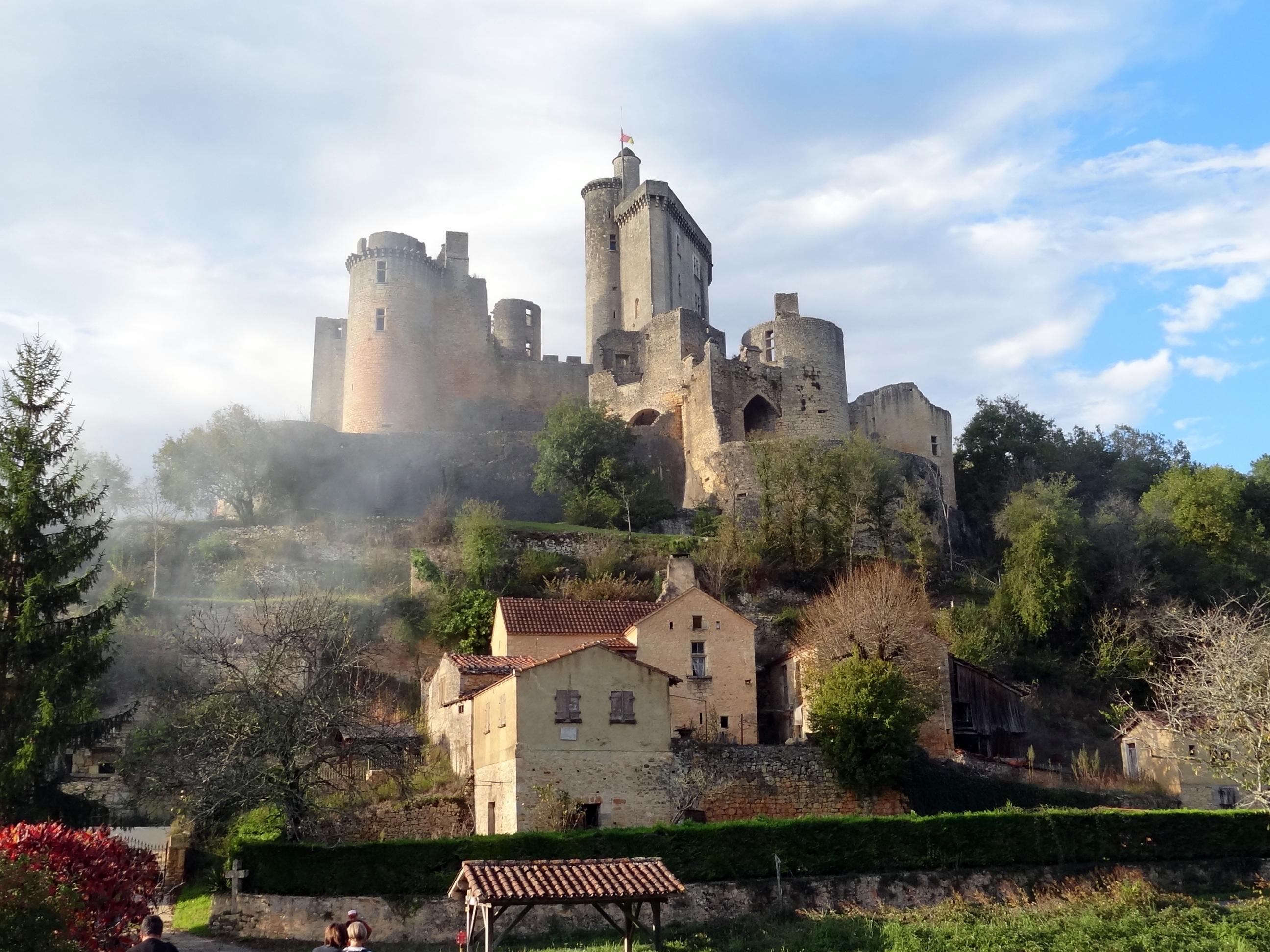 chateau de Bonaguil